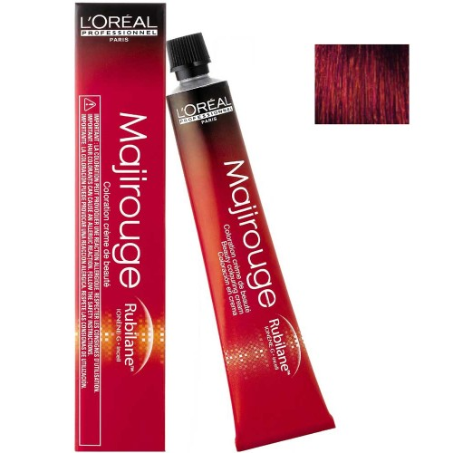 L'Oréal Professionnel Majirouge 4,60 mittelbraun intensiv rot 50 ml