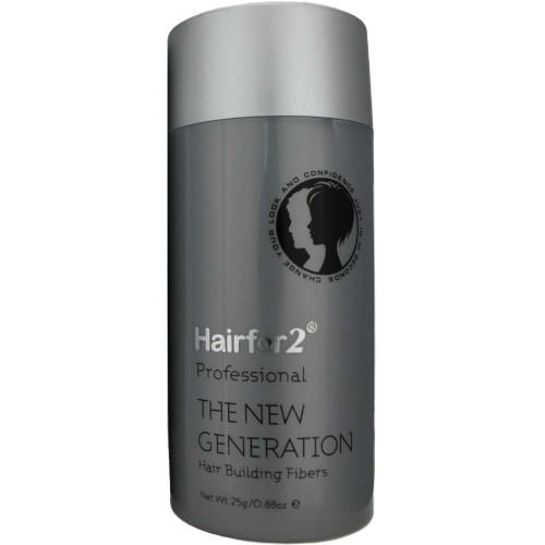 Hairfor2 Hair Building Fibers Ash Brown 25 g