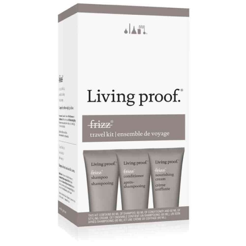 Living Proof No Frizz Travel Kit 3 x 60 ml