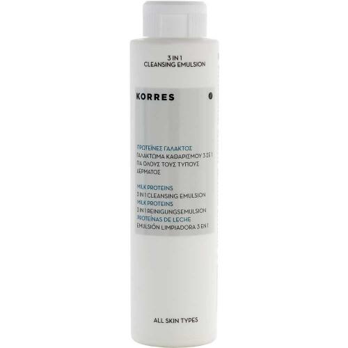 Korres Milk Proteins 3in1 Reinigungsemulsion 200 ml