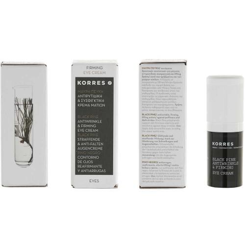 Korres Black Pine Anti-Falten Augencreme 15 ml