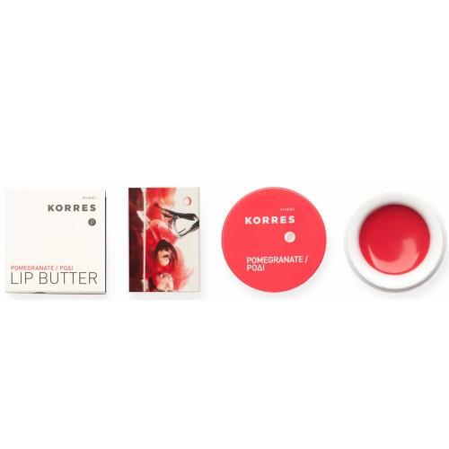 Korres Lip Butter Pomegranate 6 g