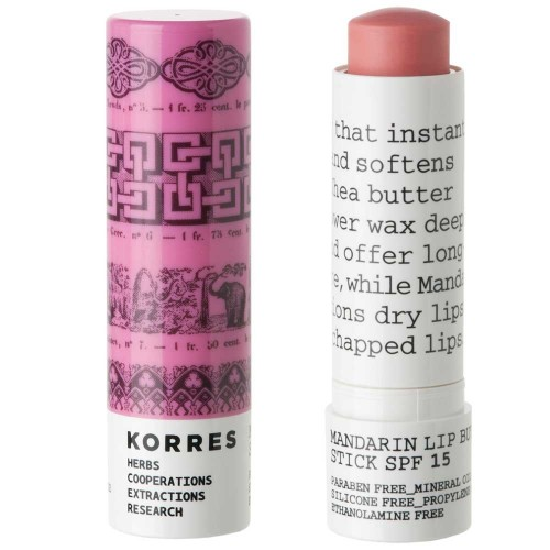 Korres Mandarin Lip Butter Stick Rose 5 ml