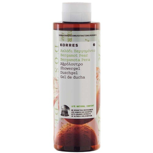 Korres Showergel Bergamot Pear 250 ml