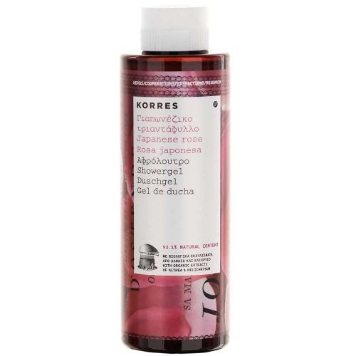 Korres Showergel Japanese Rose 250 ml
