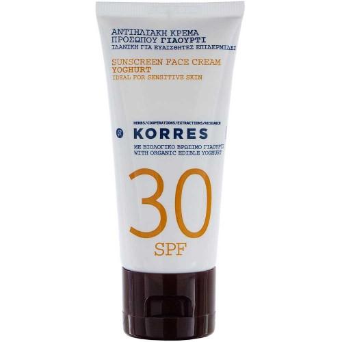 Korres Yoghurt SPF 30 Sonnencreme 50 ml