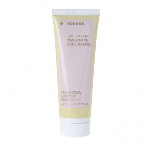 Korres Bellflower Tangerine & Pink Pepper Body Milk 125 ml