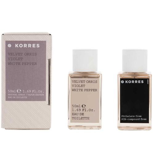 Korres Velvet Orris / Violet EdT 50 ml