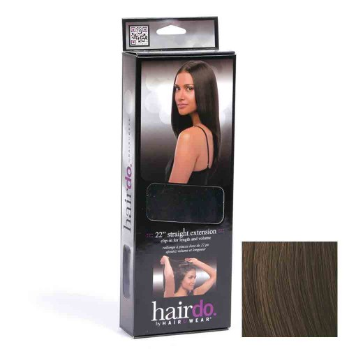 Hairdo Haarteil Clip in Straight Extension R6 chocolate 55 cm