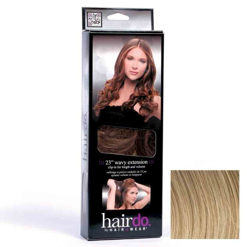 Hairdo Haarteil Clip in Wavy Extension R14 Golden Wheat 55 cm
