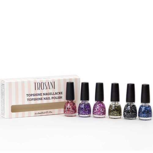 Trosani Glitter Queen Set 6 x 5 ml