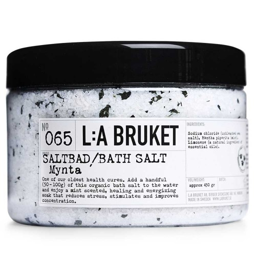L:A BRUKET No. 65 Bath Salt Minze 450 g