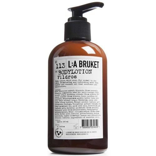 L:A BRUKET No. 113 Body Lotion Wildrose 250 ml
