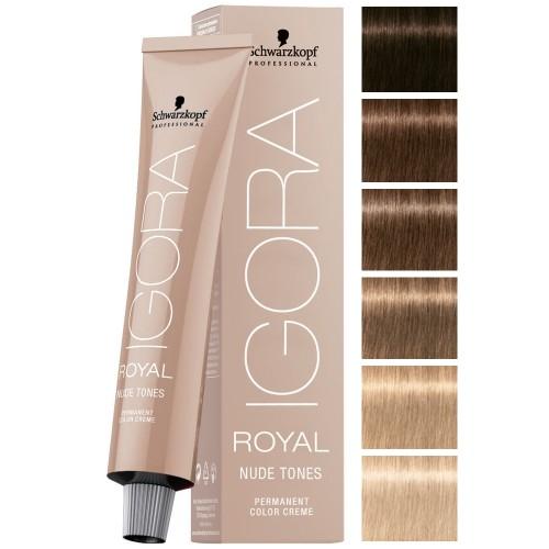 Schwarzkopf Professional Igora Royal Nude Tones | glamot.com