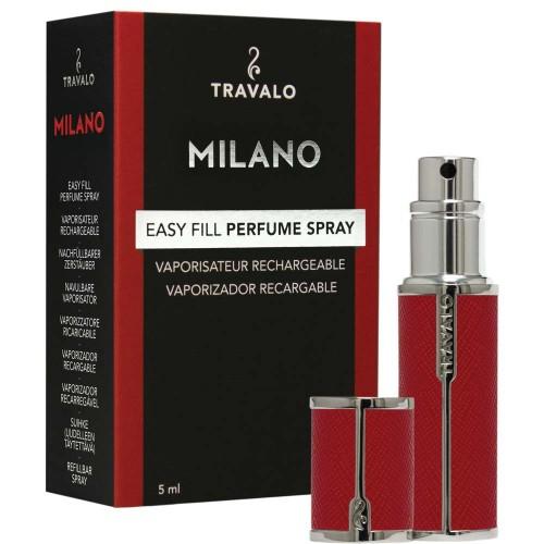 TRAVALO Milano Taschenzerstäuber Red