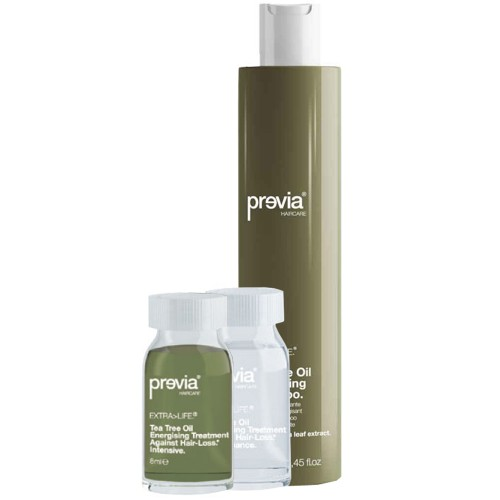 Previa Extra Life Shampoo + Vials Komi-Pack