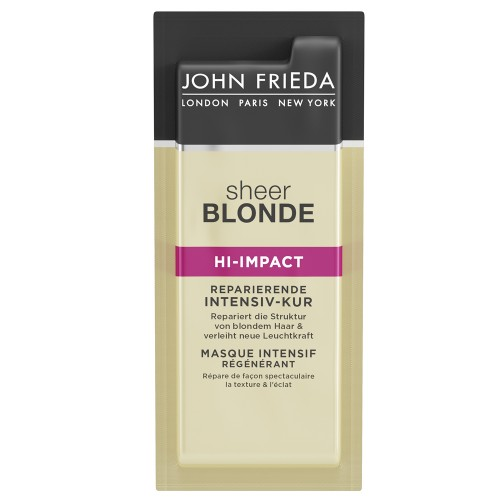 John Frieda Sheer Blonde Hi-Impact Kur Sachets 25 ml