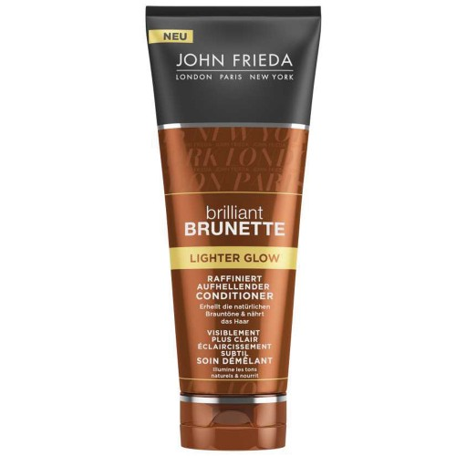 John Frieda Brilliant Brunette Lighter Glow Conditioner 250 ml