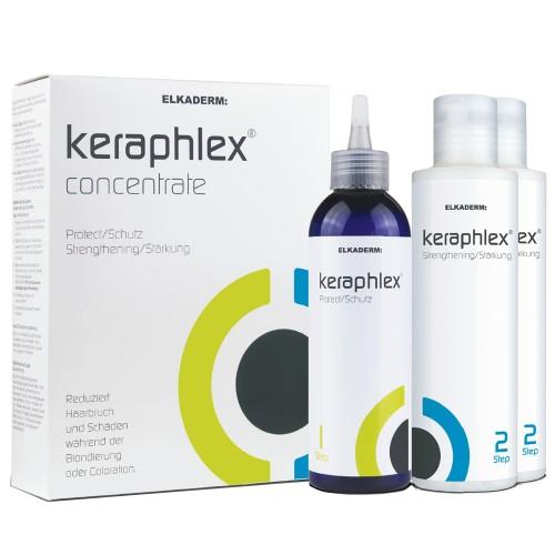 Elkaderm Keraphlex XL-Set 1 x Step 1, 200 ml & 2 x Step 2, 200 ml