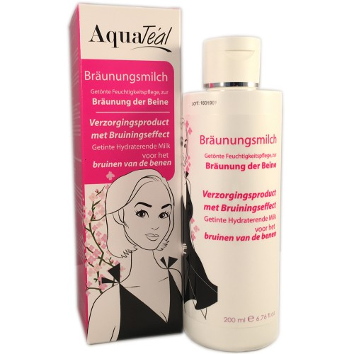 AquaTeal Bräunungsmilch 200 ml