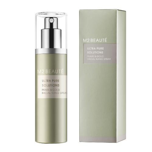 M2 Beauté Pearl & Gold Facial Nano Spray 75 ml