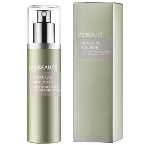 M2 Beauté Ultra Pure Solutions Hyaluron & Collagen Facial Nano Spray 75 ml