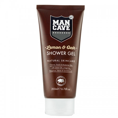 ManCave Lemon & Oak Shower Gel 200 ml