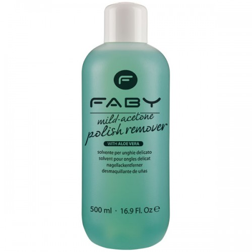 FABY Mild Acetone Polish Remover 500 ml