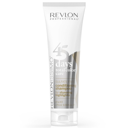 Revlon Revlonissimo 45 Days Stunning Highlights 2 in 1 Shampoo & Conditioner 275 ml