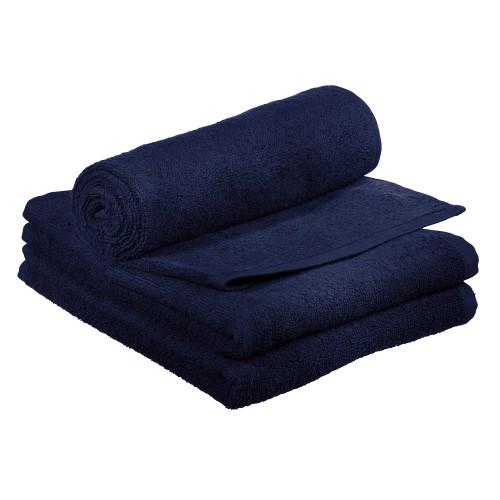 Comair Kabinett Handtuch dunkelblau 50x90cm 100% Baumwolle