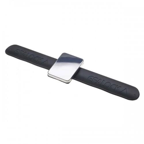 Efalock Snap-On Magnet-Armband schwarz für Haltenadeln
