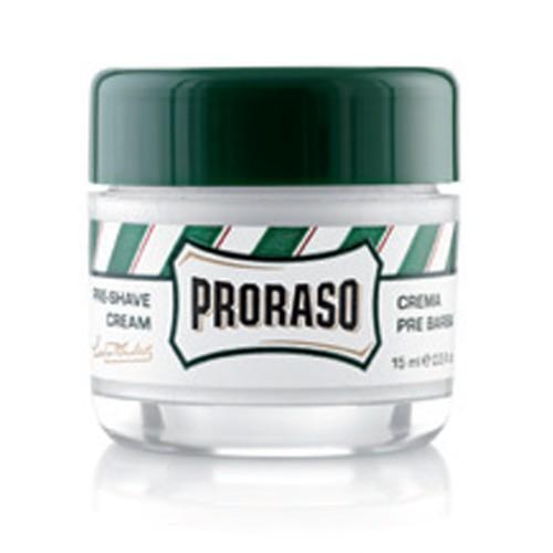 Proraso Grüne Linie Pre-Shave Cream 15 ml