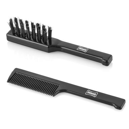 Proraso Moustache Brush Set