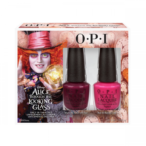 OPI Alice Mad Hatter Duo Pack 2 x 15 ml DDA21