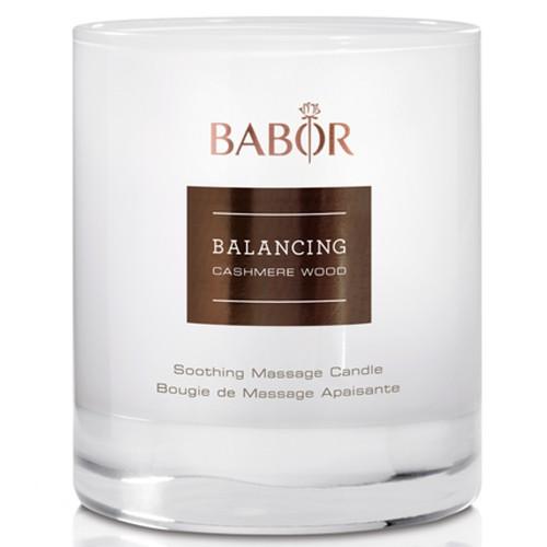 BABOR SPA Balancing Cashmere Wood Massage Candle 190 g