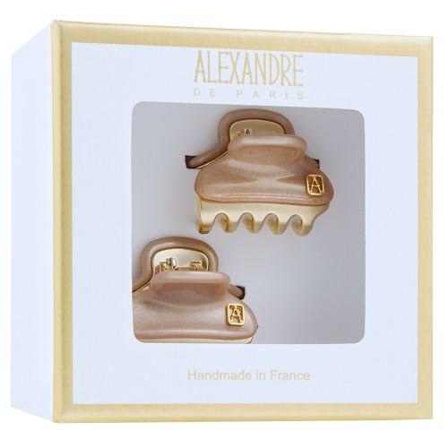 Alexandre de Paris Pince Vendôme Baby Champagner Geschenkebox 2 Stück