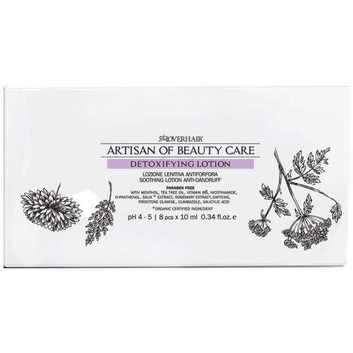 Roverhair ARTISAN Detoxifying Anti-Dandruff Lotion 8 x 10 ml