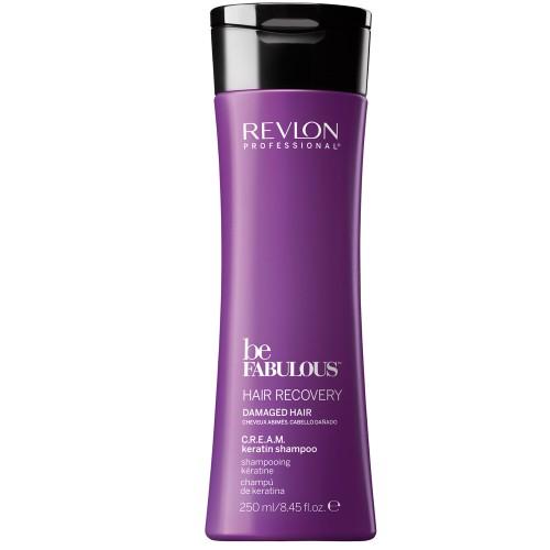 Revlon Be Fabulous Recovery Cream Shampoo 250 ml