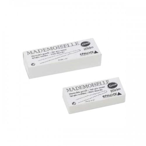 Efalock Haarnadeln Mademoiselle gewellt 500 g 45 mm schwarz