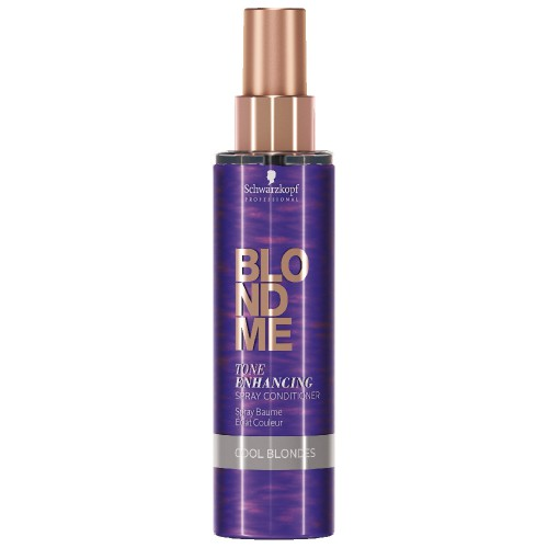 Schwarzkopf Blondme Color Correction Spray Conditioner Cool Ice 150 ml