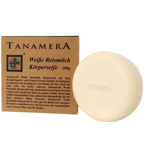 Tanamera weiße Reismilch Körperseife 100 g