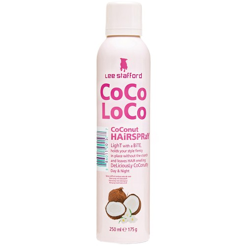 Lee Stafford Coco Loco Coconut Hairspray 250 ml