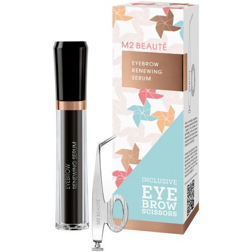 M2 Beauté Eyebrow Renewing Serum + gratis Eyebrow Scissor