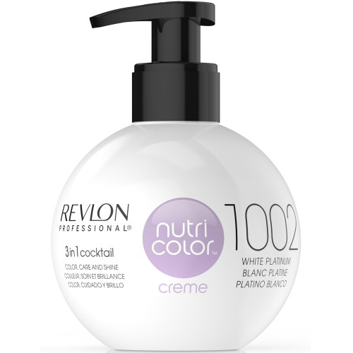 Revlon Nutri Color Cream 1002 White Platinum 270 ml