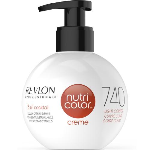 Revlon Nutri Color Cream 740 Light Copper 270 ml