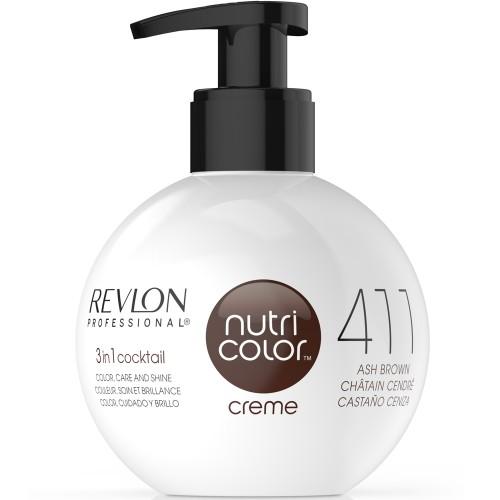 Revlon Nutri Color Cream 411 Ash Brown 270 ml