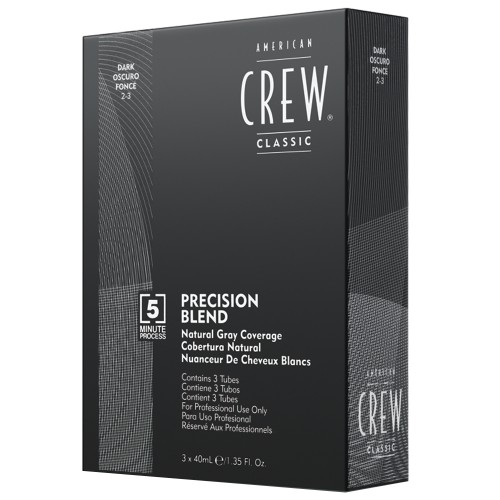 American Crew Precision Blend Dark 3x40 ml