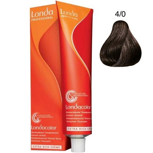 Londa Demi-Permanent Color Creme 4/0 Mittelbraun 60 ml