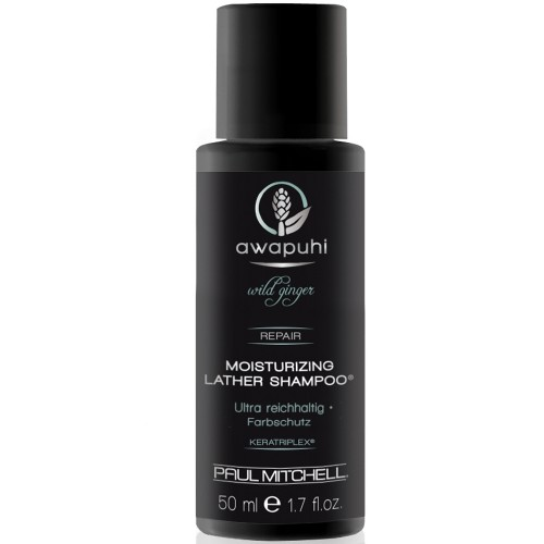 Paul Mitchell Awapuhi Wild Ginger Moisturizing Lather Shampoo 50 ml