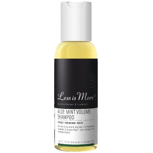 LESS IS MORE Travel Aloe Mint Volume Shampoo 50 ml
